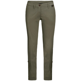 Jack Wolfskin Desert Roll-Up Broek Dames, woodland green